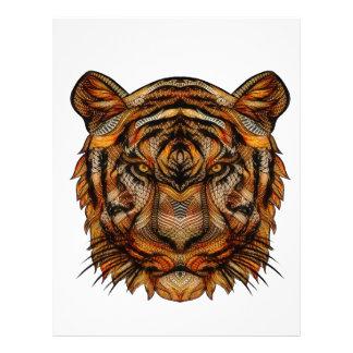 Tiger's Head 1a Letterhead