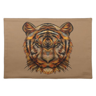 Tiger's Head 1a Placemat