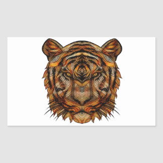 Tiger's Head 1a Sticker