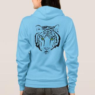 tigers head hoodie