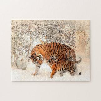 Tigers Jigsaw Puzzle