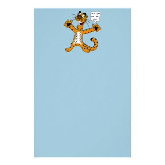 Tigers, Lions and Puns Stationery