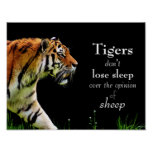 Tigers // Motivational Poster