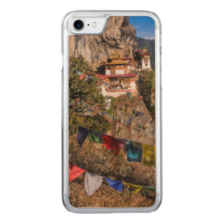 Tiger's Nest Monastery, Bhutan Carved iPhone 8/7 Case
