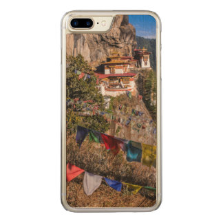 Tiger's Nest Monastery, Bhutan Carved iPhone 8 Plus/7 Plus Case