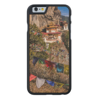 Tiger's Nest Monastery, Bhutan Carved Maple iPhone 6 Case
