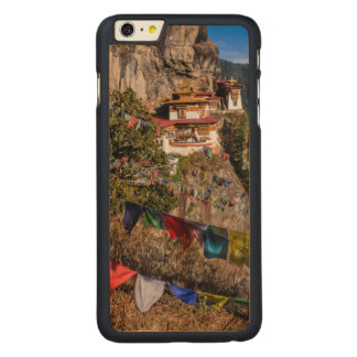 Tiger's Nest Monastery, Bhutan Carved Maple iPhone 6 Plus Case