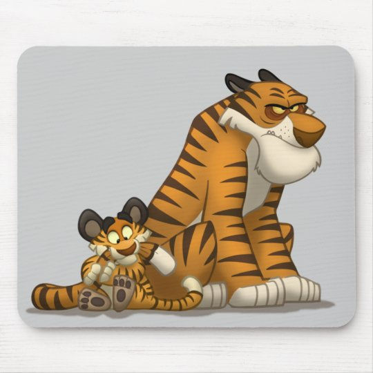 Tigers on a Mousepad