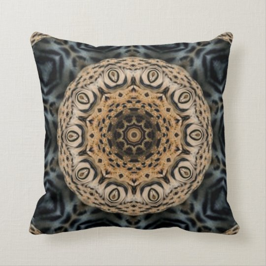 Tiger's Palace. Throw Pillow