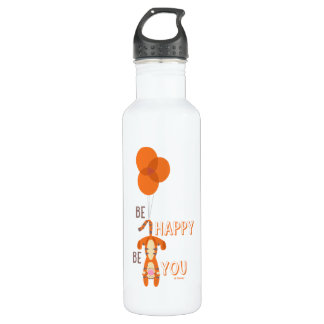 Tigger   Be Happy Be You Quote 710 Ml Water Bottle