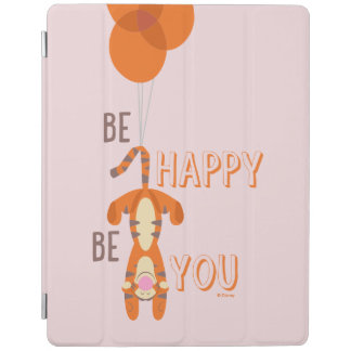 Tigger | Be Happy Be You Quote iPad Cover