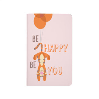 Tigger | Be Happy Be You Quote Journal