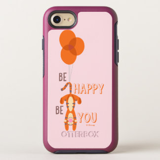 Tigger | Be Happy Be You Quote OtterBox Symmetry iPhone 8/7 Case