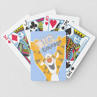 Tigger | Big Courage Bicycle Playing Cards