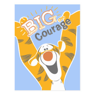 Tigger | Big Courage Postcard