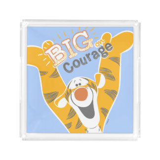 Tigger   Big Courage Serving Tray