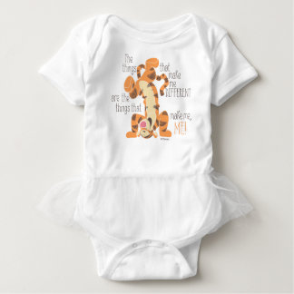 Tigger | Make Me, Me Quote Baby Bodysuit