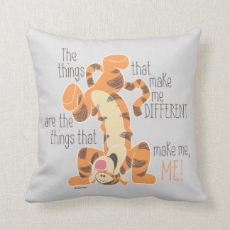 Tigger | Make Me, Me Quote Throw Pillow