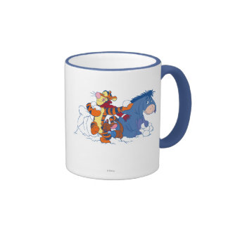 Tigger, Roo, and Eeyore Ringer Coffee Mug