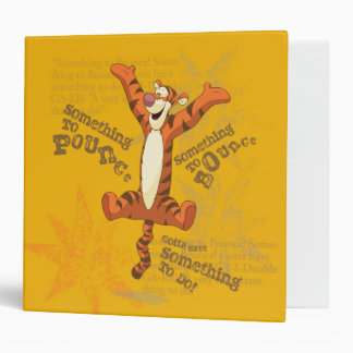 Tigger - Something to Pounce Vinyl Binders