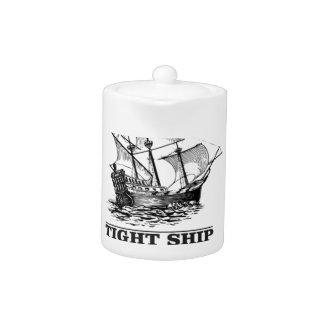 tight ship of sailing