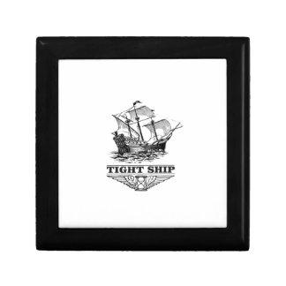 tight ship of sailing gift box