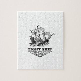 tight ship of sailing puzzles