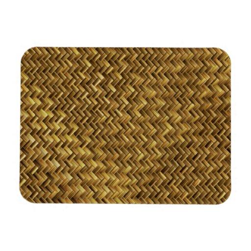 Tight Weave Basket Magnets