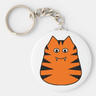 Tigr - Cute Tiger Keychain