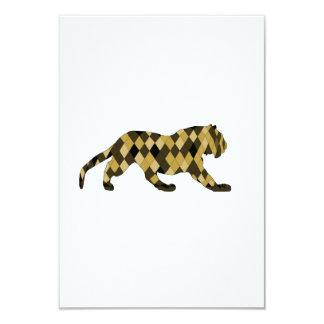 tigre carton d'invitation 8,89 cm x 12,70 cm