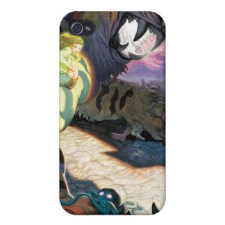 Tigre crépusculaire pour l iPhone 4 Coques iPhone 4/4S