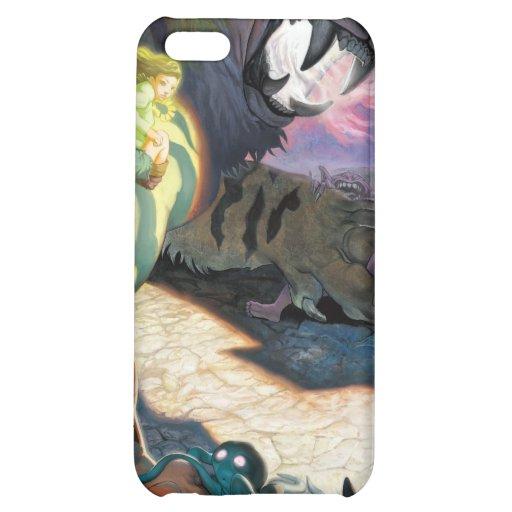 Tigre crépusculaire pour l'iPhone 4 Étuis iPhone 5C