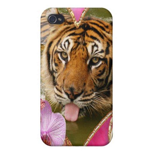 Tigre de Bengale iPhone 4 Case