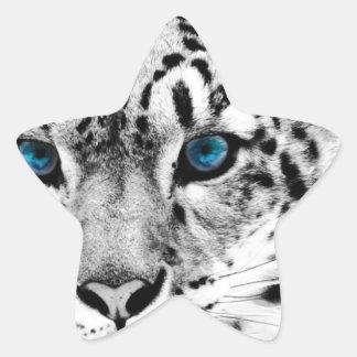 Tigre-en-blanco-y-negro.jpg Star Sticker