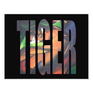 Tigre II Invitation Personnalisable