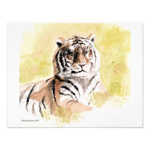 tigre cartons d'invitation personnalisés