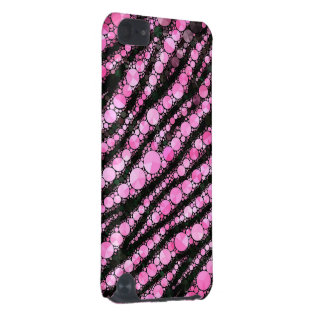 Tigre rose Bling Coque iPod Touch 5G
