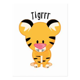 Tigrrr Postcard
