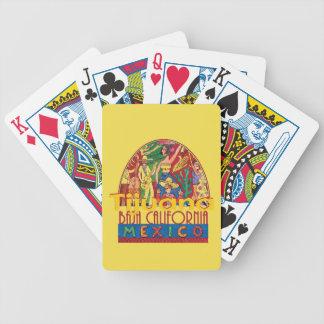 TIJUANA Mexico Poker Deck