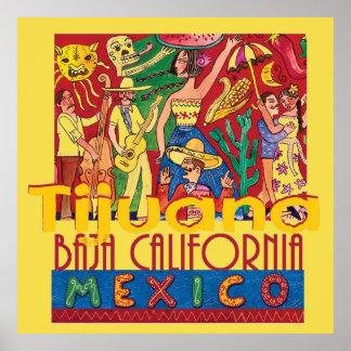 TIJUANA Mexico Poster