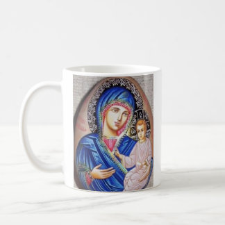 Tikhvin Wonder-working icon of Divine Coffee Mug