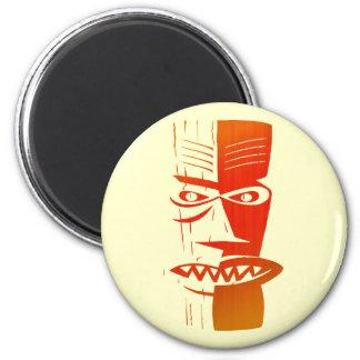 Tiki 2 Inch Round Magnet
