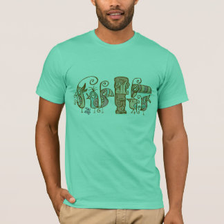 Tiki & 60's Tiki Birds T-Shirt