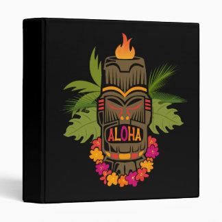 Tiki Aloha Vinyl Binders