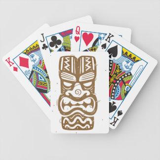 Tiki Bicycle Playing Cards