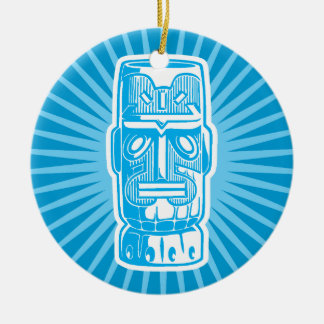 Tiki Blue ornament