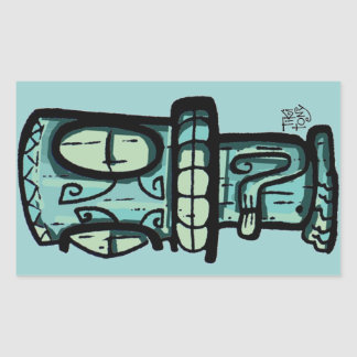Tiki Car Sticker