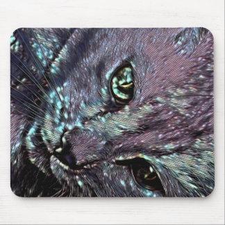 Tiki Cat my Love Mouse Pad