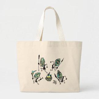 Tiki Dancers Tote Bag by Tiki tOny