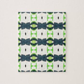 Tiki design pattern jigsaw puzzle